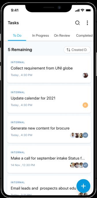 Agentcis Mobile app